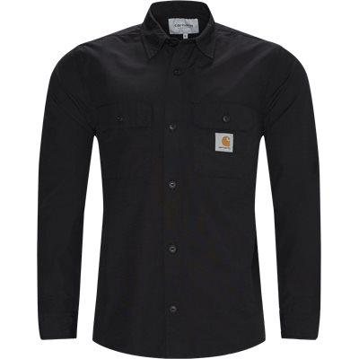 L/S Field Shirt Loose | L/S Field Shirt | Sort